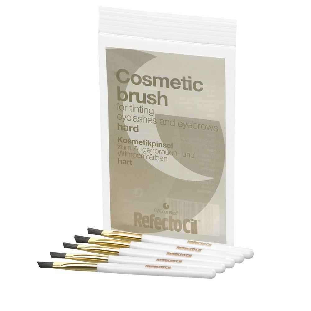 Refectocil Brush Hard twarde pędzelki kosmetyczne do nakładania henny brwi i rzęs