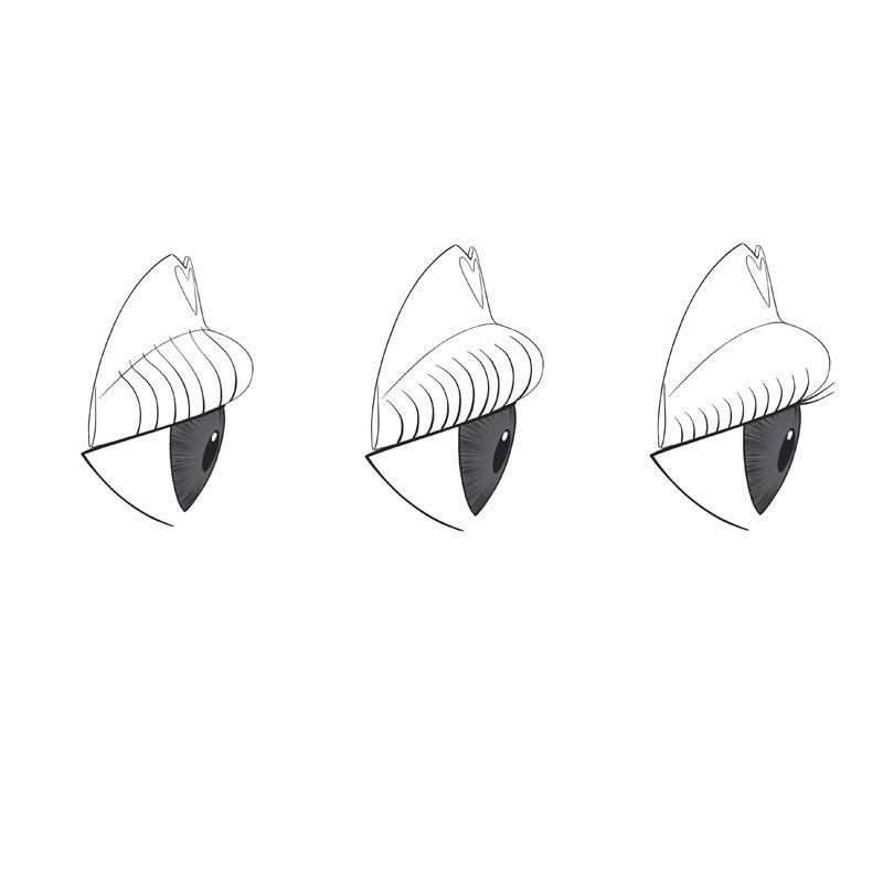 RefectoCil Refill Eyelash Lift Pads S - Silikonowe podkładki do liftingu rzęs