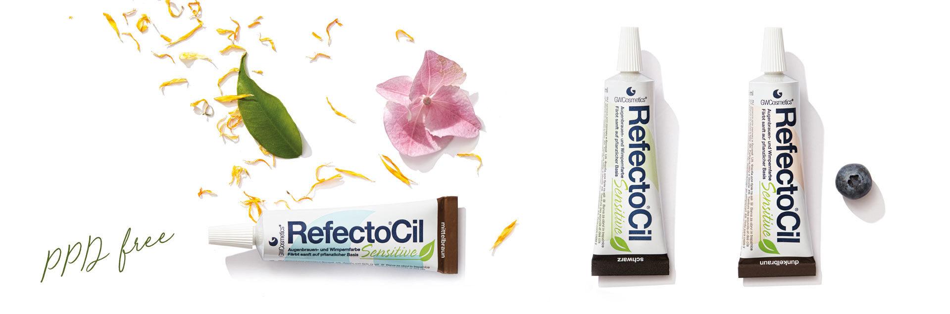 RefectoCil Sensitive - koloryzacja brwi i rzęs dla wrażliwych
